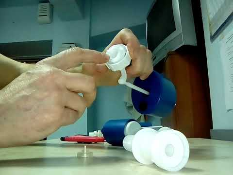 Клапан подачи воды бачка унитаза - ремонт.