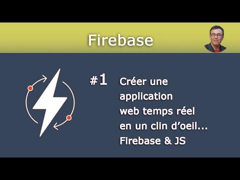 Application Temps Réel - Firebase JS #1