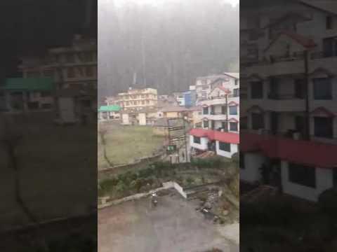 Himachal Pradesh snow flow
