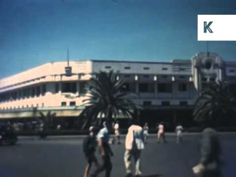 1950s Nairobi, Kenya, Rare Colour Africa Archive Footage