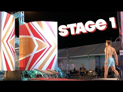 AMERICAN NINJA WARRIOR TESTING: NATIONAL FINALS 2018 (STAGE ONE) | BraziBros