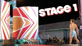 AMERICAN NINJA WARRIOR TESTING: NATIONAL FINALS 2018 (STAGE ONE) | BraziBros