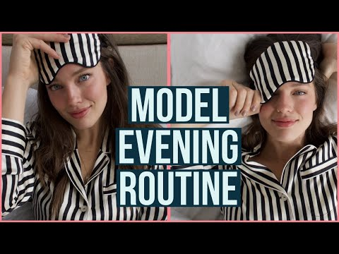 Extremely Realistic Model Evening Routine    Emily DiDonato