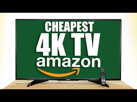 UNBOXING The CHEAPEST 4K TV On AMAZON