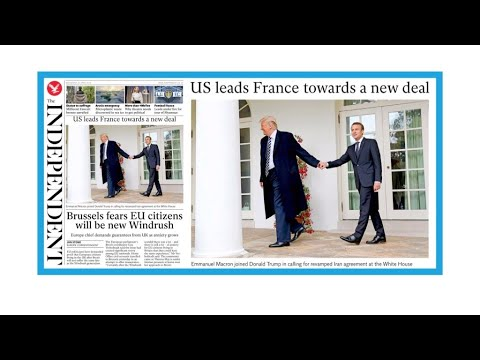 "Donald Trump et Emmanuel Macron : ""bromance"", ""pellicules""... et Iran"