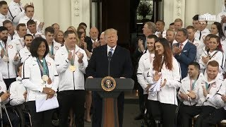 President Trumps Hosts a Celebration for Team USA