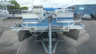 1994 Tracker 20ft CLIPPER PONTOON//50HP MERCURY  Used Boats - Alexandria,Minnesota - 2013-05-31