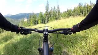 Bukovel Bike Park | Trail DH 2(Буковель байк-парк, трасса DH 2 06.08.13., 2013-08-06T18:29:23.000Z)