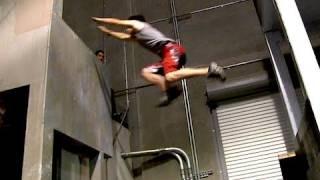 Learning Free Running - Ninja Warrior Training- Day 6 - PAIN and BLOOD!!! thumbnail