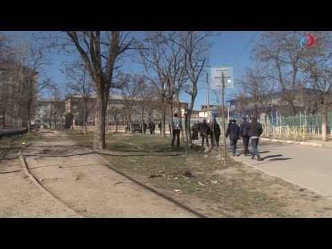 """Чистота и порядок во дворах м/р """"Дружба"""" // г. Буйнакск"""