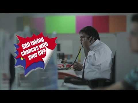 Don't Take A Chance With Your CV - Funny Video Ad - Shine.com