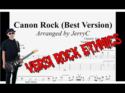 CANON Rock, Guitar Ethnics cover (Gamelan) by Dede Aldrian