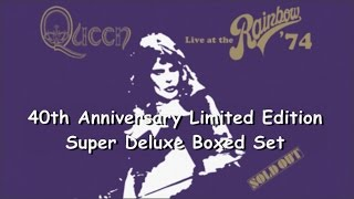 Baixar [001] Live At The Rainbow '74 - 40th Anniversary Limited Edition Deluxe Boxed Set Unboxing (2014)