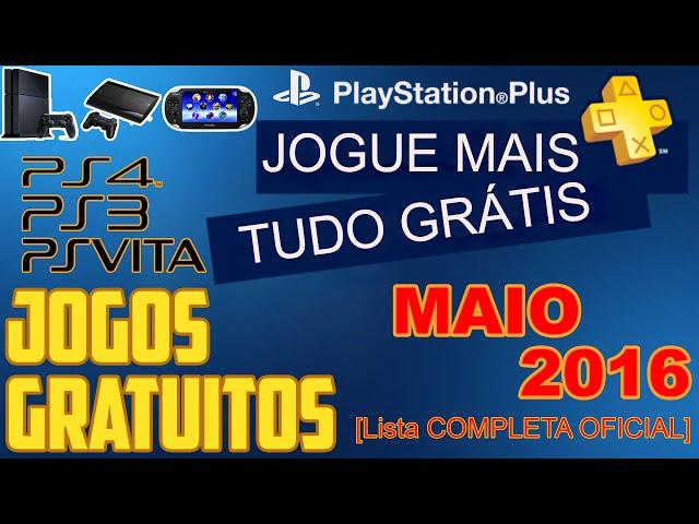 Psn Plus Jogos Grátis Para Maio De 2016 [ Lista Oficial ]