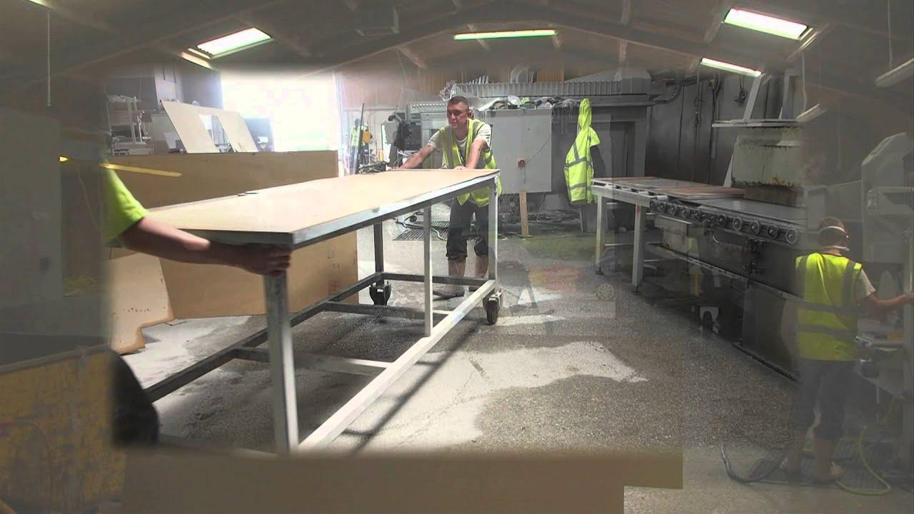 Kitchens With Granite Worktops Optiplan Kitchens Uk Granite Worktops Factory Youtube