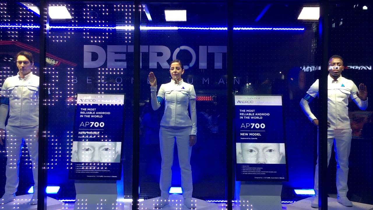 Detroit: Become Human PlayStation Booth - Tokyo Game Show 2017 - YouTube