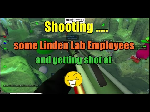 Shooting Some Linden Lab Employees And Getting Shot At :D ( Snowball FIght) { Second Life }