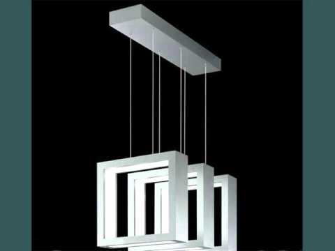 Modern Square Pendant Light