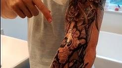MelodySusie Full Arm Temporary Tattoo for Men Women, 18 Sheet FULL REVIEW