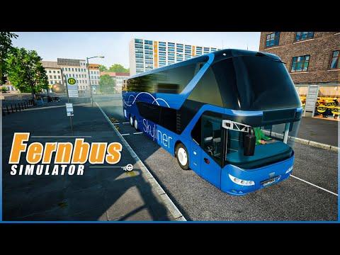 Neoplan Skyliner - Fernbus Simulator Gameplay | Thrustmaster T300RS |