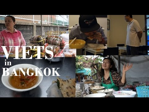 Vietnamese People and Food in BANGKOK THAILAND today