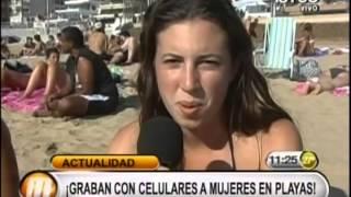 Download Video Nueva moda: graban con celulares a mujeres en playas MP3 3GP MP4