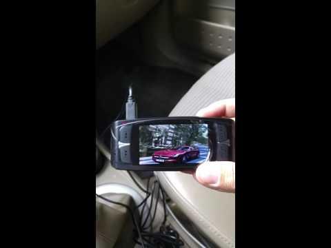 Car dash camera broken