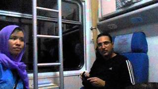 Tehran to Mashhad Night Train   Part 3   Iran   December 2013