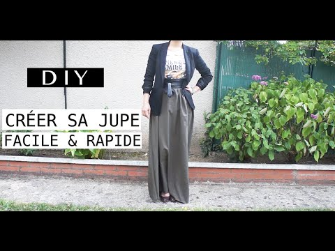 Jupe En Sa DiyCréer Longue 15min CoutureSorania iuTXZOPk