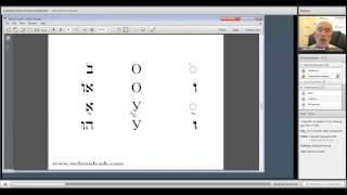 Библейский Иврит для начинающих-Урок 3