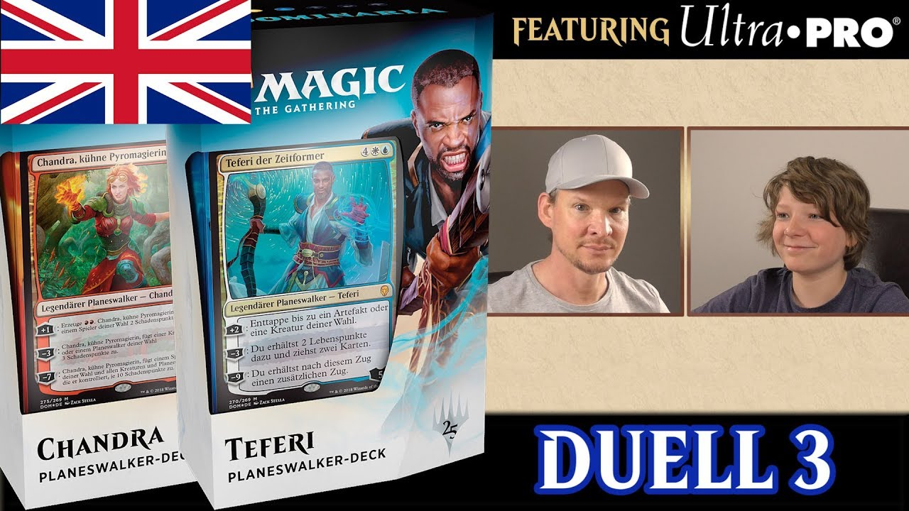 Duel #3 Dominaria Planeswalker Decks english Magic traderonlinevideo ...