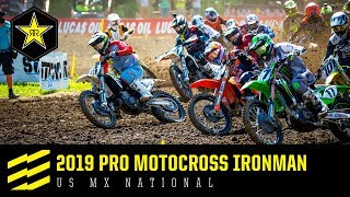 2019 Pro Motocross Ironman US MX National | Rockstar...
