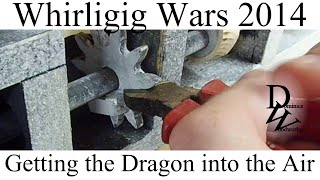 Getting The Dragon Into The Air - Whirligig Wars 2014