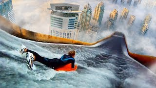 Top 5 MOST INSANE ILLEGAL Waterslides YOU