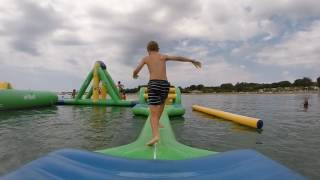Inflatable Challenge with Seth - Zaton Holiday Resort Croatia