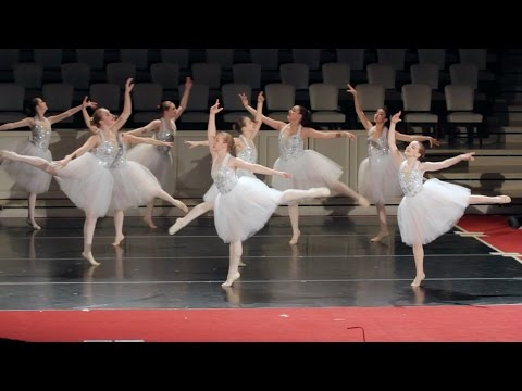 "TAFA Ballet Ensemble - ""Funny  Serenade""  (Monday Showcase 2015)"