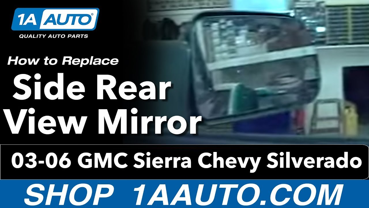 GMC C1500 Driver SIDE Right MIRROR 1999 2000 2001 2002 2003 2004 05 06 07