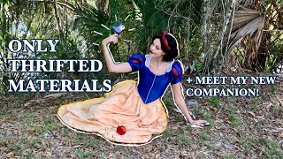 DIY Snow White Costume from Thrifted Materials! Ft. Love in a time of Quarantine