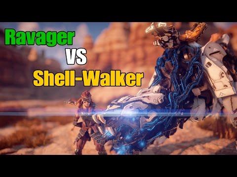 Horizon Zero Dawn  Fight Club - Ravager VS Shellwalker