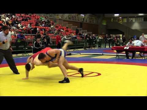 2014 Junior National Championships: 84 kg Steven Sheppard vs. Grayson St. Laurent