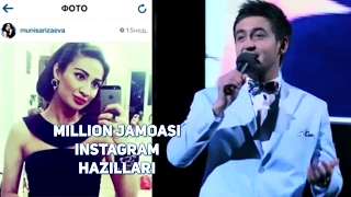 Million jamoasi - Instagram hazillari