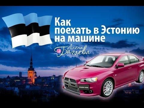 Как поехать в Эстонию на машине