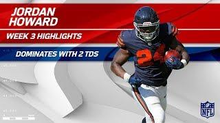 Jordan Howard's 138-Yard Day w/ 2 TDs! | Steelers vs. Bears | Wk 3 Player Highlights thumbnail