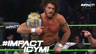 Matt Sydal NEW IMPACT Grand Champion | IMPACT! Highlights Jan. 25th, 2018