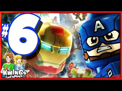 LEGO Marvel Avengers: Walkthrough Part 6 AVENGE Agent Phil!