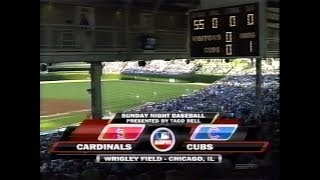 118 - Cardinals at Cubs - Sunday, August 10, 2008 - 7:05pm CDT - ESPN