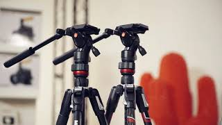 Manfrotto Befree Travel Tripods Collection Tutorial Video