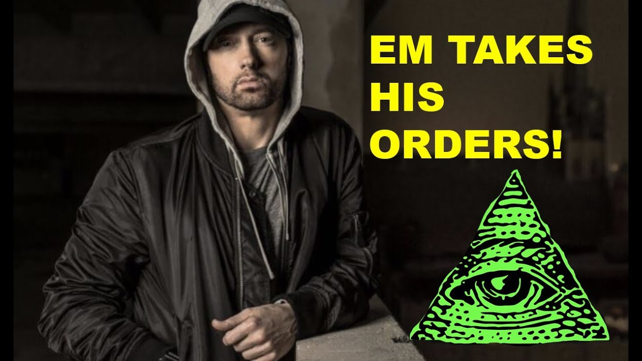 EMINEM TAKES HIS ORDERS TO GO AGAINST TRUMP!