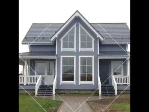 Каркасный дом со вторым светом проект КД-28