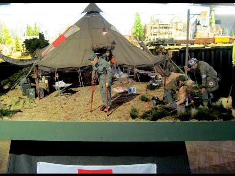 Scale Model Military Museum  Odessa Florida